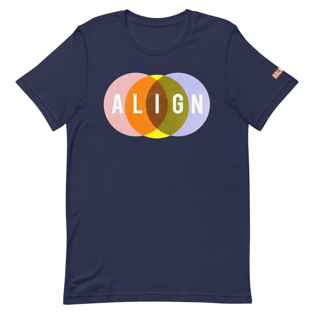 Align Tee Shirt Blue