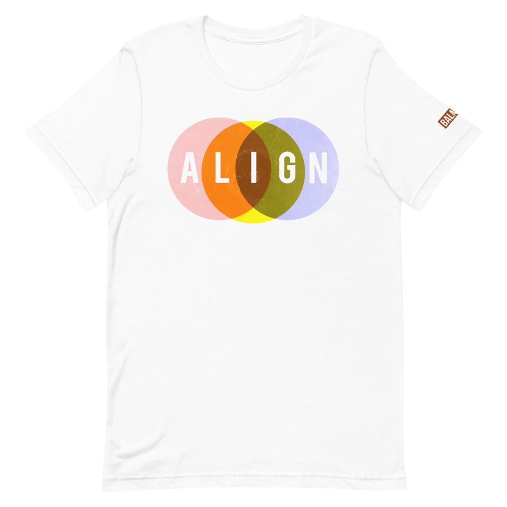 Align Tee Shirt white