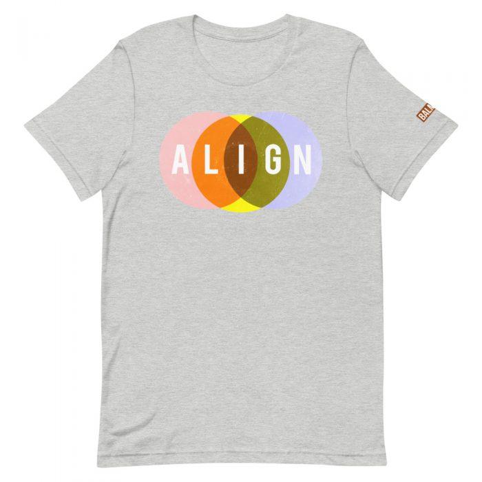 Align Tee Shirt grey